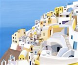 Greek Buildings II Art Print