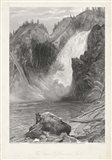 The Upper Yellowstone Falls Art Print