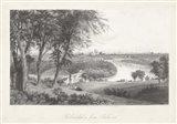Philadelphia From Belmont Art Print