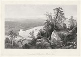 Connecticut Valley from Mount Tom Art Print