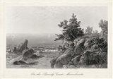 On the Beverly Coast, Massachusetts Art Print