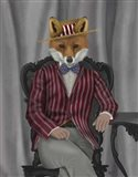 Fox 1920s Gentleman Art Print