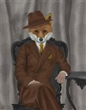 Fox 1930s Gentleman Art Print