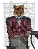 Fox 1920s Gentleman Art Print