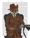 Fox 1930s Gentleman Art Print