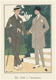 Men's Fashion III Art Print