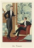 Men's Fashion IV Art Print