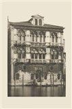 Vintage Views of Venice II Art Print