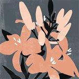 Mod Lilies II Art Print