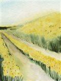 Gilded Aisles II Art Print