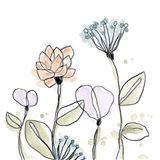 Spindle Blossoms V Art Print