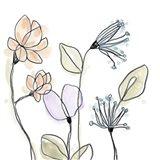 Spindle Blossoms VI Art Print