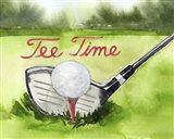 Tee Off Time III Art Print