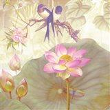 Lotus Sanctuary IV Art Print