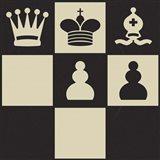 Chess Puzzle I Art Print