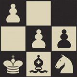Chess Puzzle III Art Print