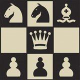 Chess Puzzle IV Art Print