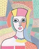 Pattern Lady I Art Print
