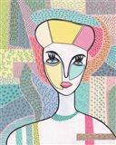 Pattern Lady II Art Print
