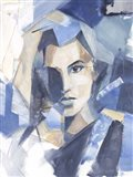 Cubist Glamour II Art Print