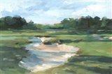 Golf Course Study I Art Print