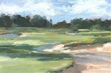 Golf Course Study II Art Print