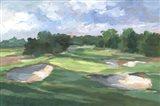 Golf Course Study III Art Print