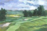 Golf Course Study IV Art Print