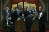 Mafia Respect Art Print