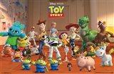 Toy Story Crew Art Print