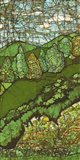 Green Landscape II Art Print