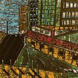 City One Art Print