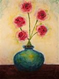 Big Blue Vase Art Print