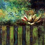 Impressionist Lily I Art Print