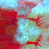 Coral Glass I Art Print