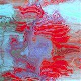 Coral Glass II Art Print