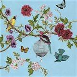 Bird Song Chinoiserie II Art Print