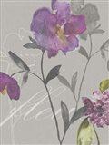 Violette Fleur I Art Print