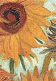 Vase with Twelve Sunflowers, .c1888 (detail) Art Print
