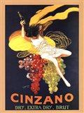 Cinzano Brut Art Print