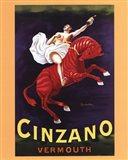 Cinzano Vermouth Art Print