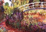 Le Pont Japonais Art Print