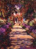 Il Viale del Giardino Art Print