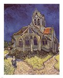 The Church at Auvers, c.1890 Art Print