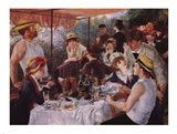 Luncheon of the Boating Party, c.1881 Art Print
