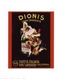 Dionis Gran Spumante Art Print