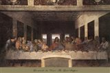 The Last Supper, c.1498 (post-restoration) Art Print