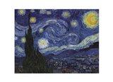 The Starry Night, c.1889 Art Print