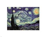 The Starry Night, c.1889 Art Print