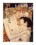 Three Ages of Woman - Mother and Child, c.1905 (detail) Art Print